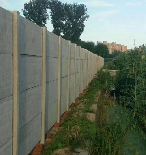 水泥围墙安装