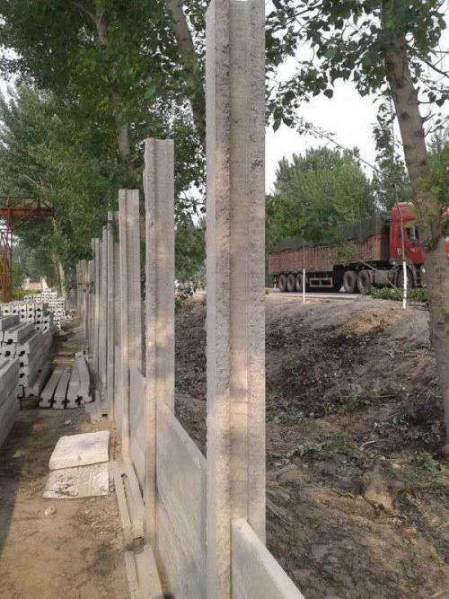 水泥板围墙立柱