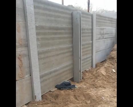 水泥围墙板高度
